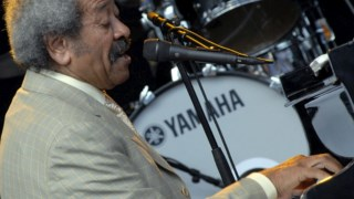 Num concerto em Estocolmo, em 2009