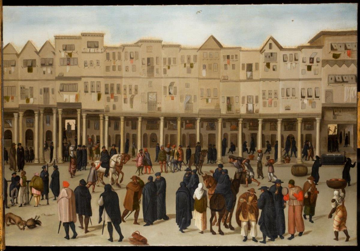 As duas pinturas encontradas numa mansão inglesa revelam o quotidiano de Lisboa, a capital de um império durante os Descobrimentos