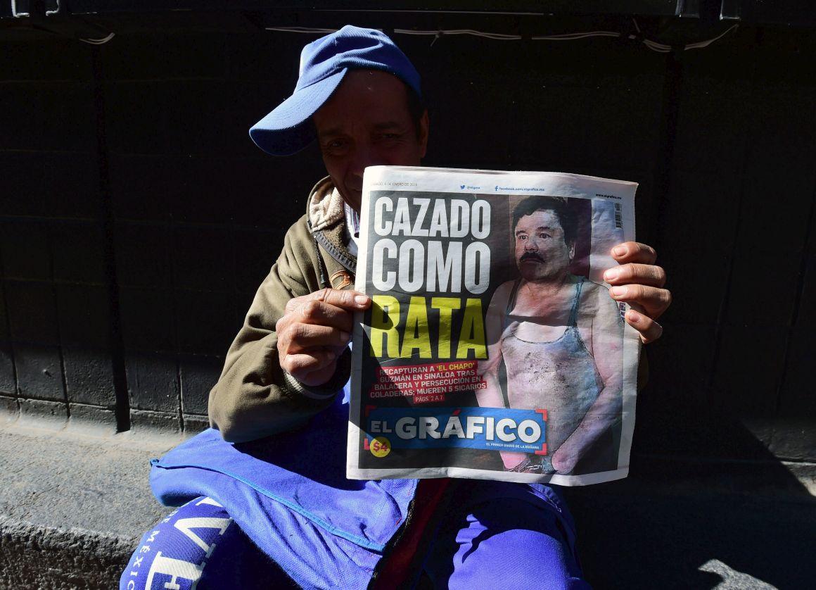 <i>El Chapo</i> foi apanhado por acreditar na sua própria lenda