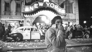 Martin Scorsese na rodagem de <i>New York, New York</i>