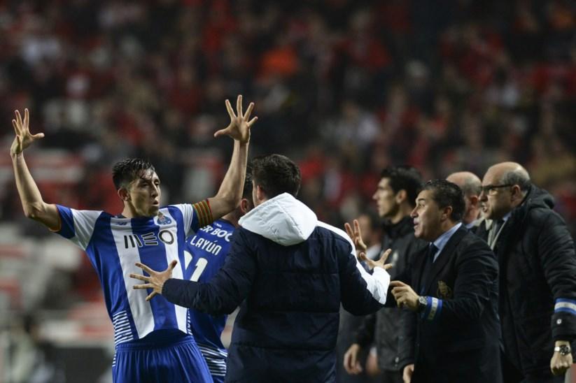 bf109c8cab Herrera marcou o primeiro golo do FC Porto no Estádio da Luz
