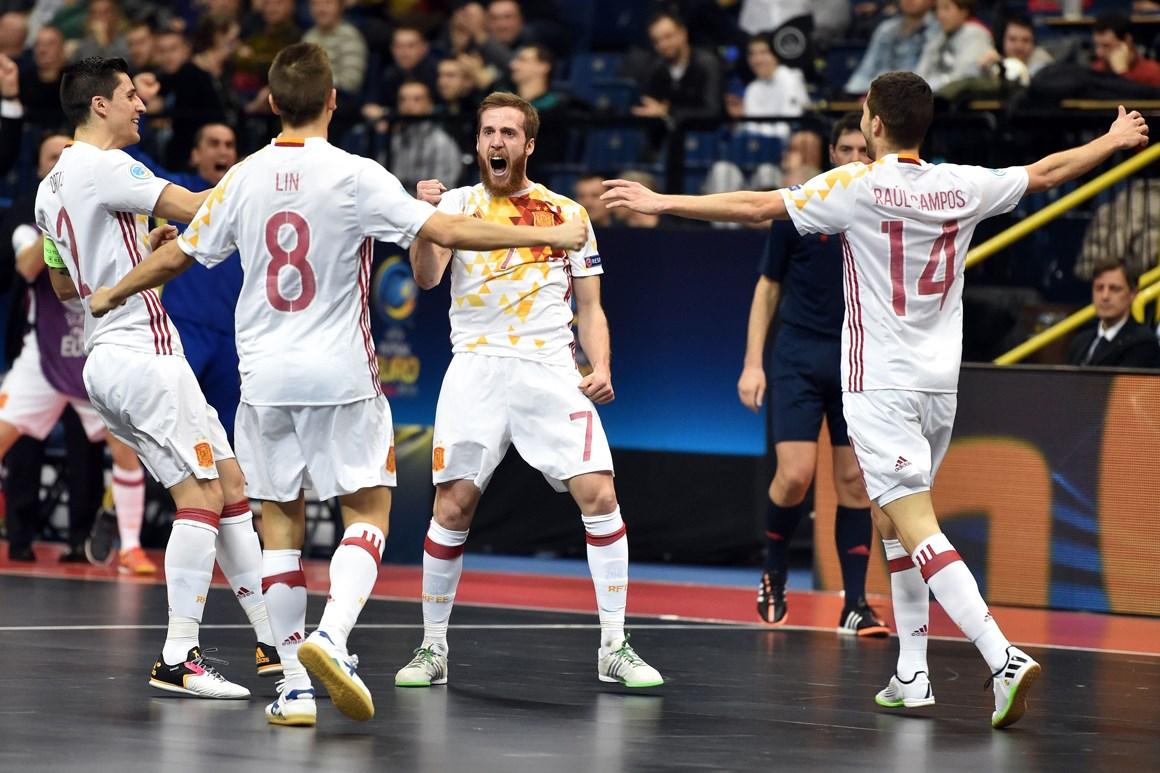 e54f3f33043c1 Espanha vence pela sétima vez o Europeu de futsal