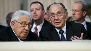 Com  Henry Kissinger, em 2014