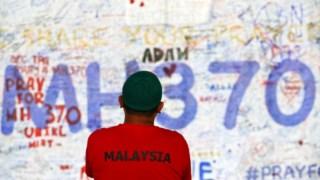 O avião desapareceu em Março de 2014
