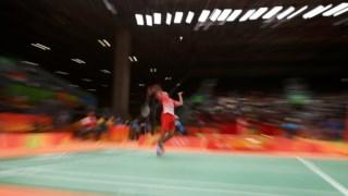 A participação portuguesa no badminton terminou