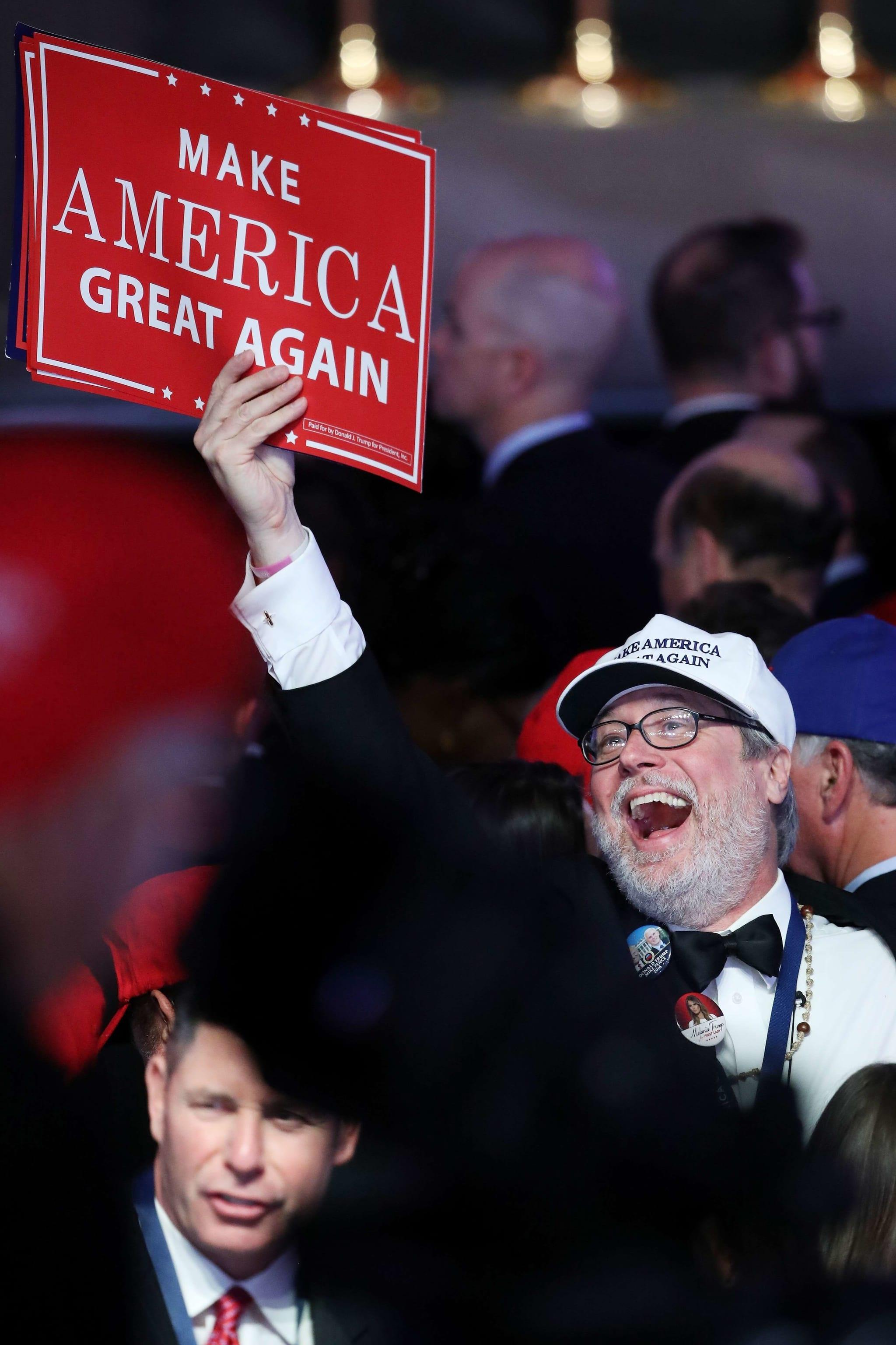 Os media não quiseram acreditar na vitória de Donald Trump