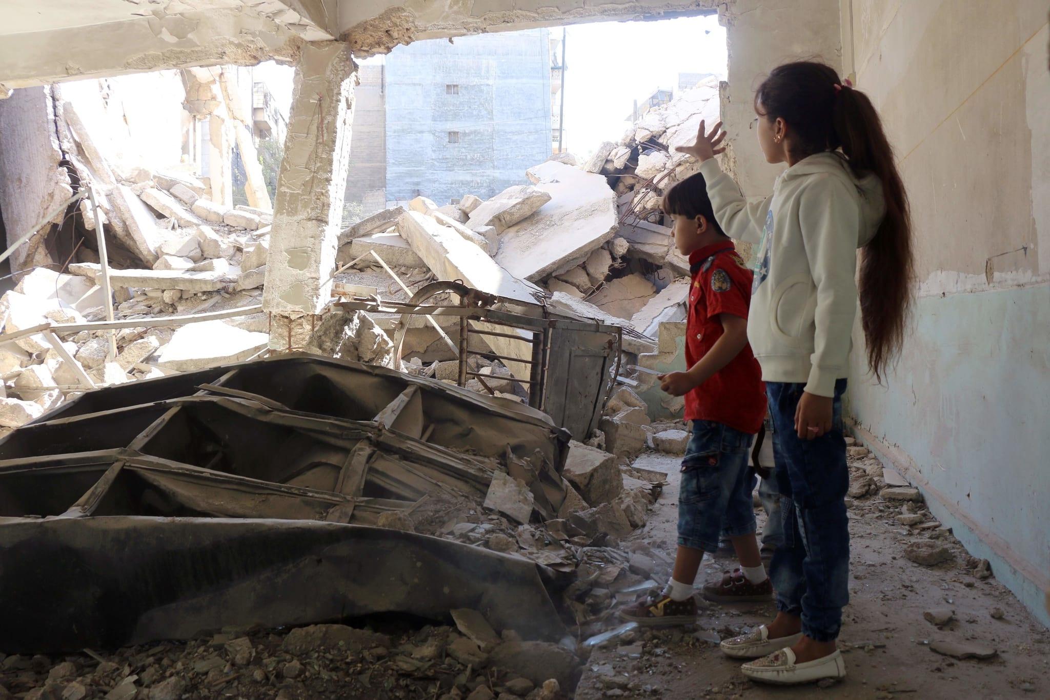 PÚBLICO - A casa da menina que tweeta de Alepo foi destruída