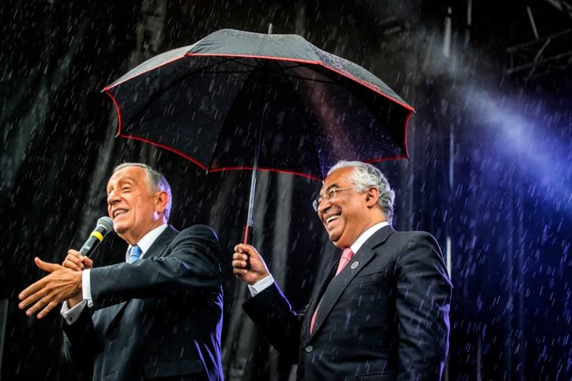 Este ano, Marcelo e Costa partilharam um chapéu de chuva em Paris. Em 2017, como estará o clima institucional?
