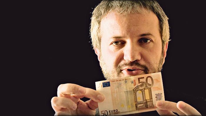 Claudio Borghi, o sr. Adeus moeda única