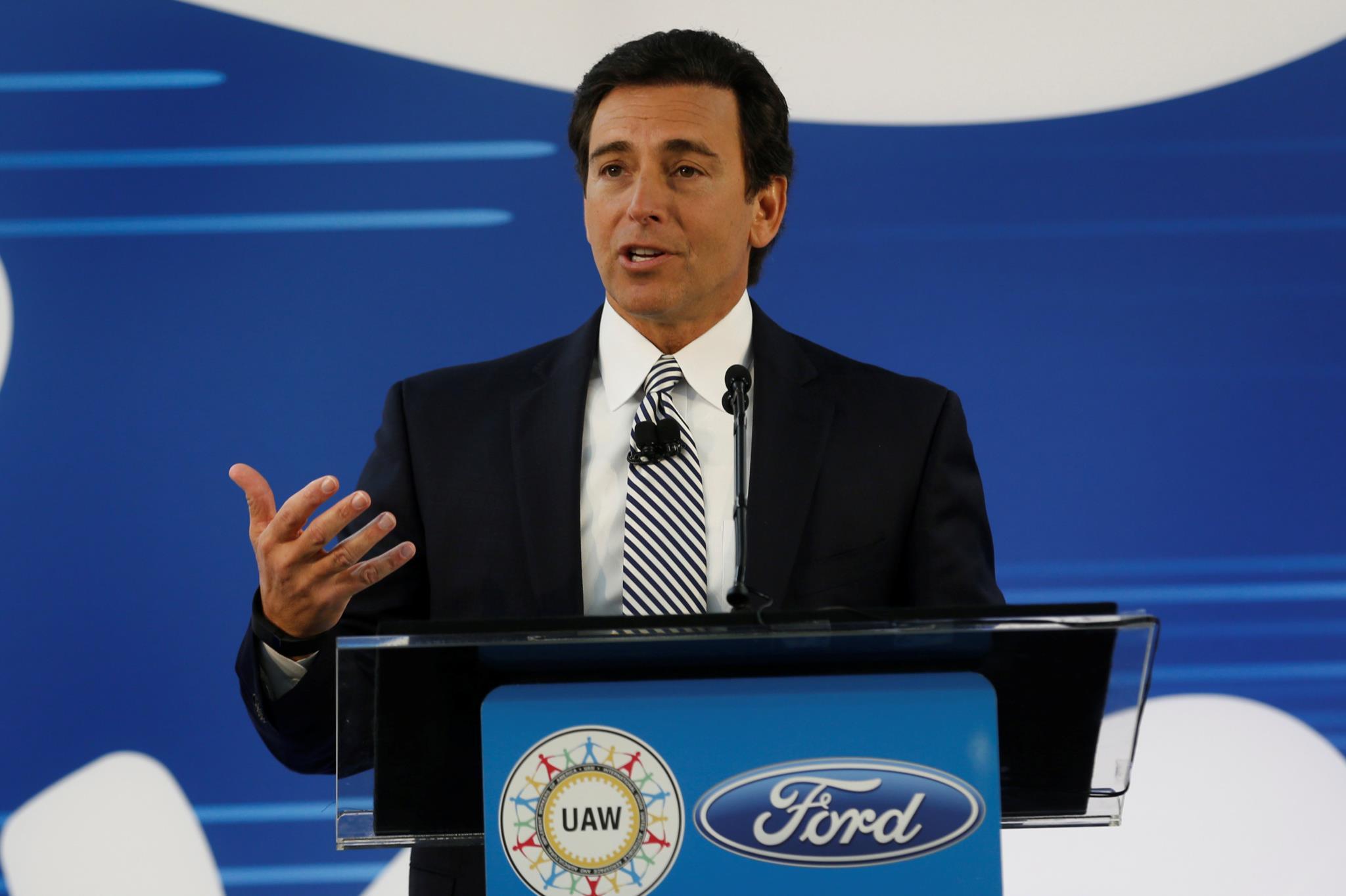 Mark Fields, presidente-executivo da Ford, anunciou a decisão nesta terça-feira