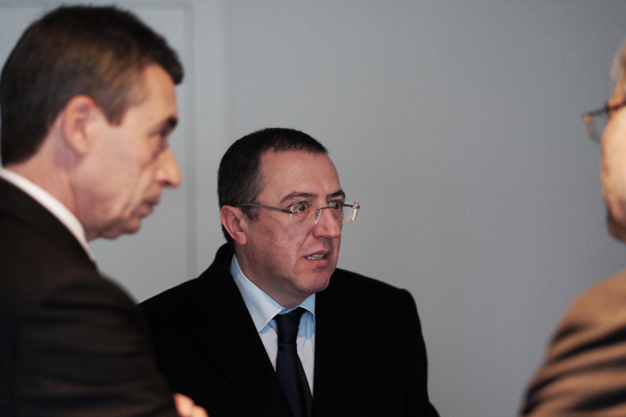 Carlos Alexandre, Baltasar Garzón e Sérgio Moro juntos em debate no Estoril