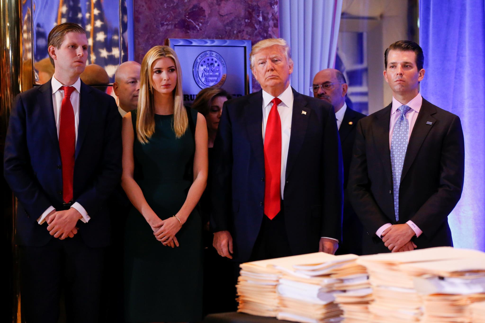 Trump, um Presidente cheio de incompatibilidades