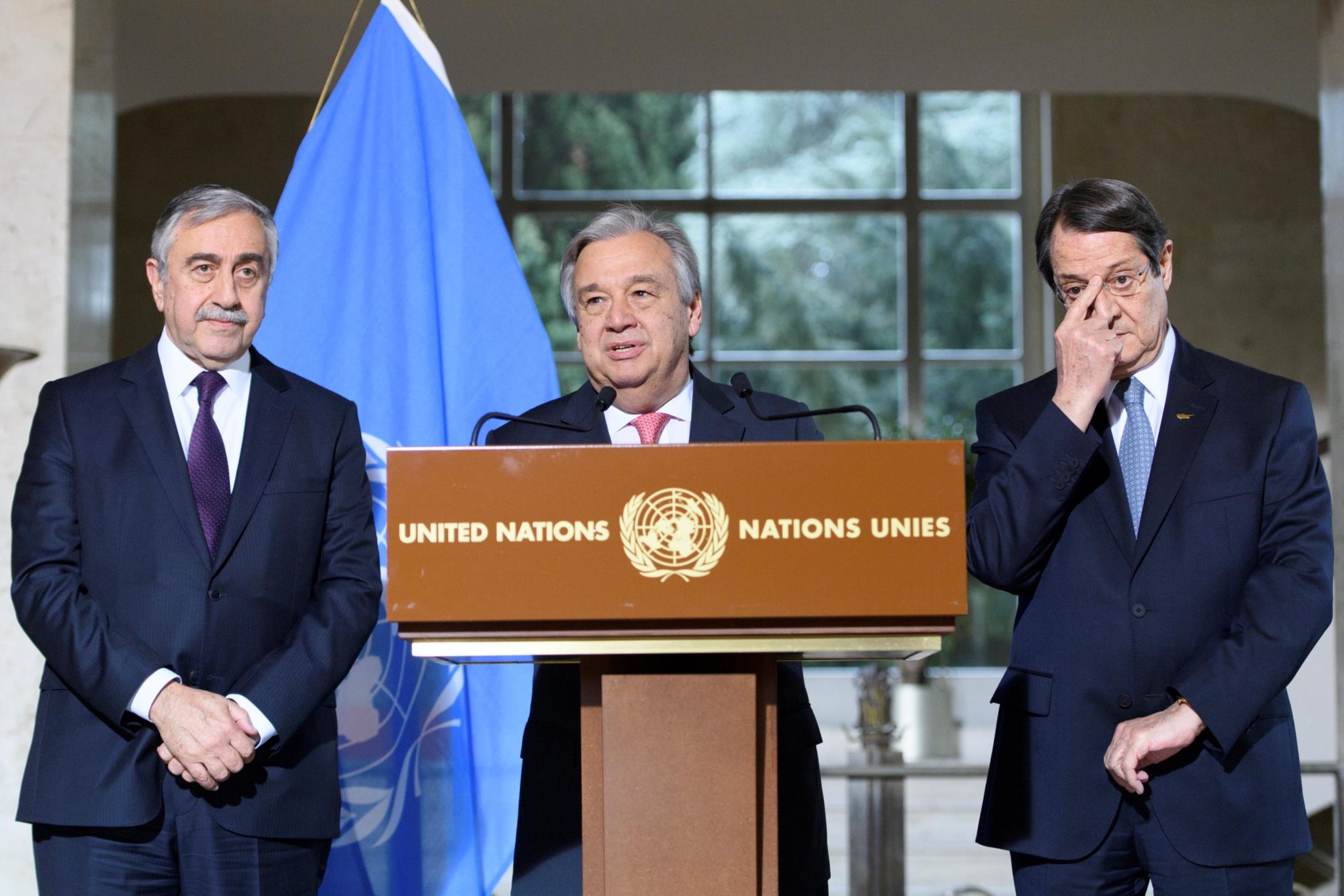 """""""Não se podem esperar milagres"""" nas negociações de Chipre"""