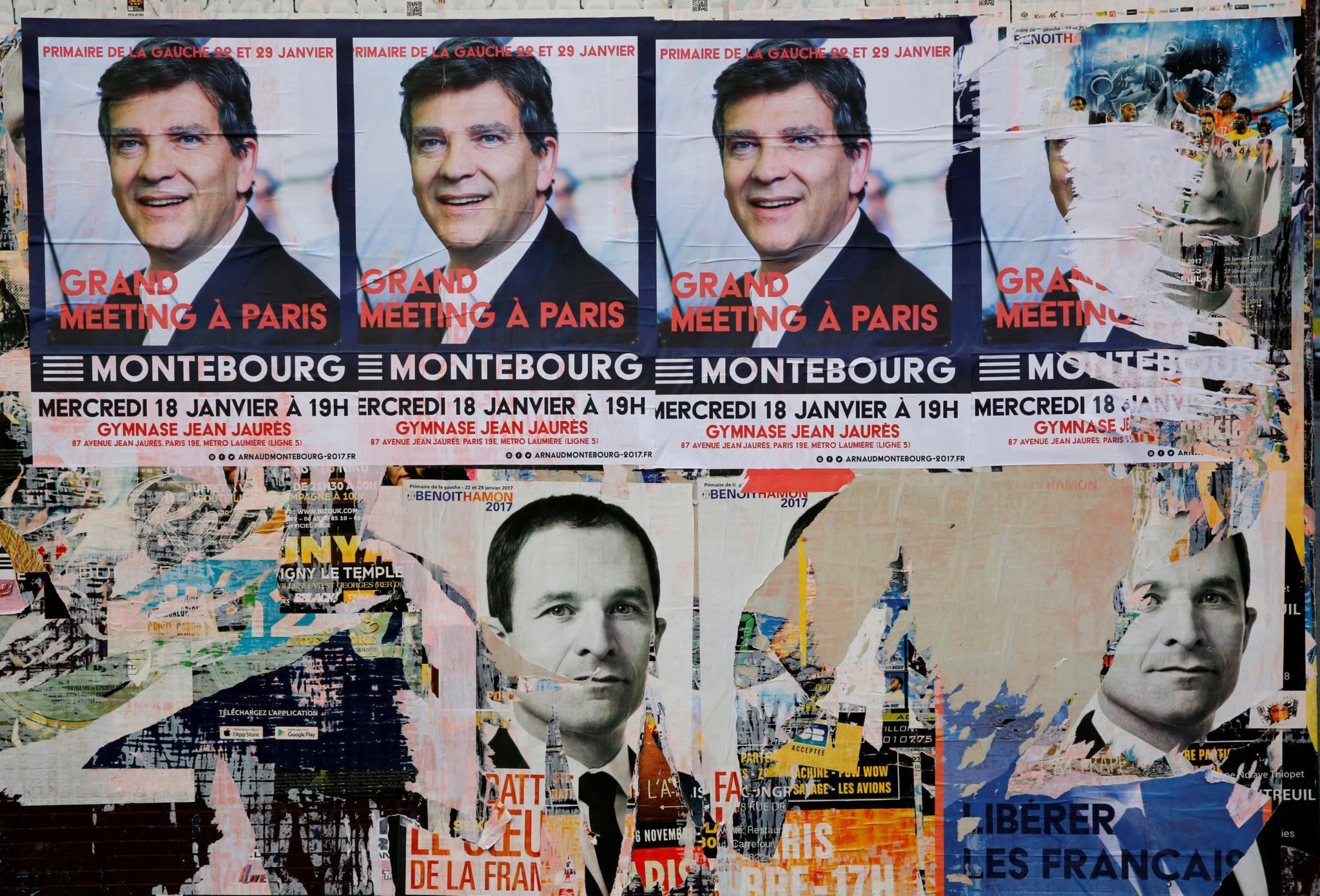 PÚBLICO - Macron, Valls ou Montebourg: um deles poderá salvar ou enterrar o PS francês