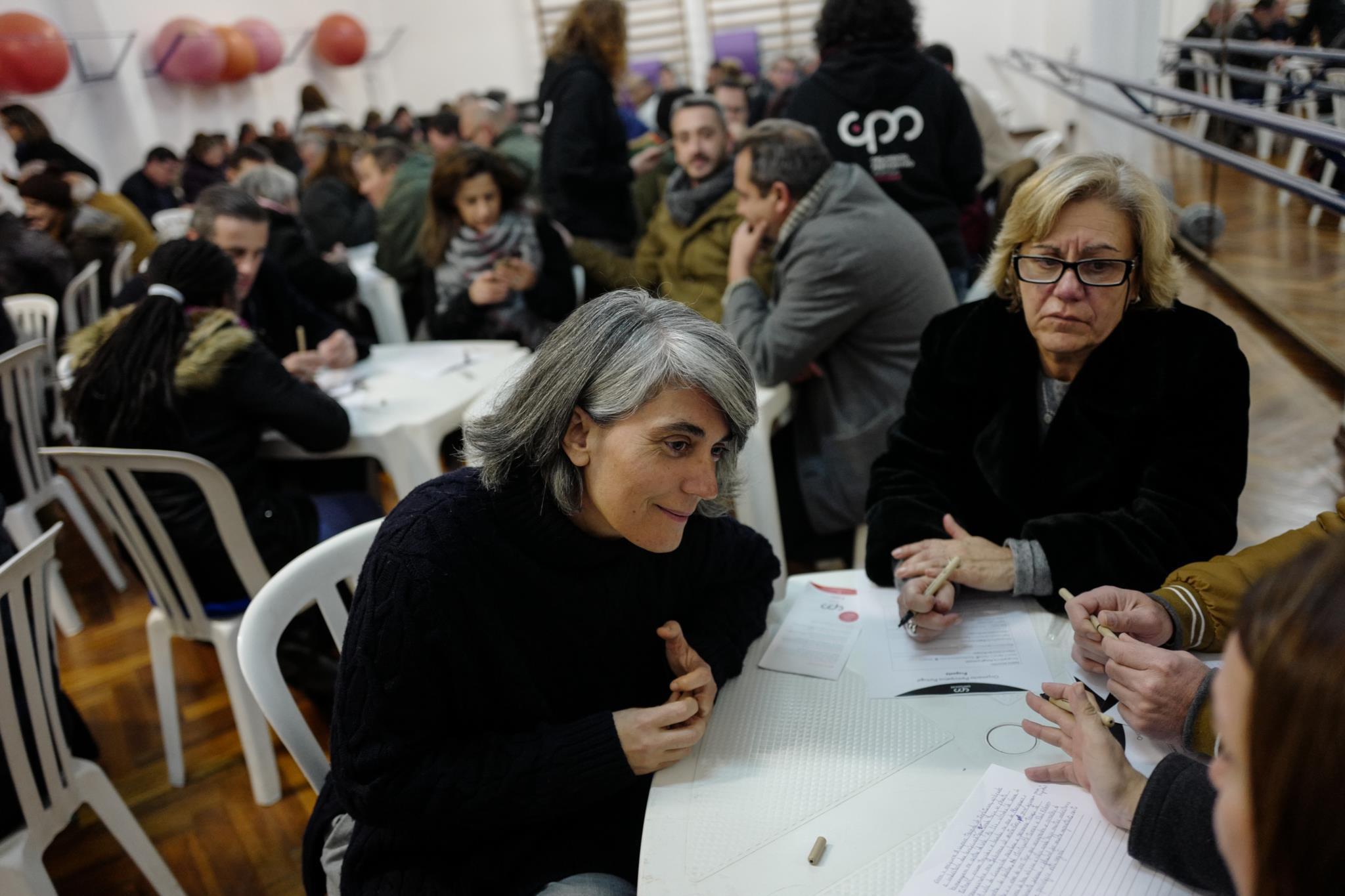 PÚBLICO - Numa noite fria em Alenquer, houve uma pequena assembleia de ideias para o país