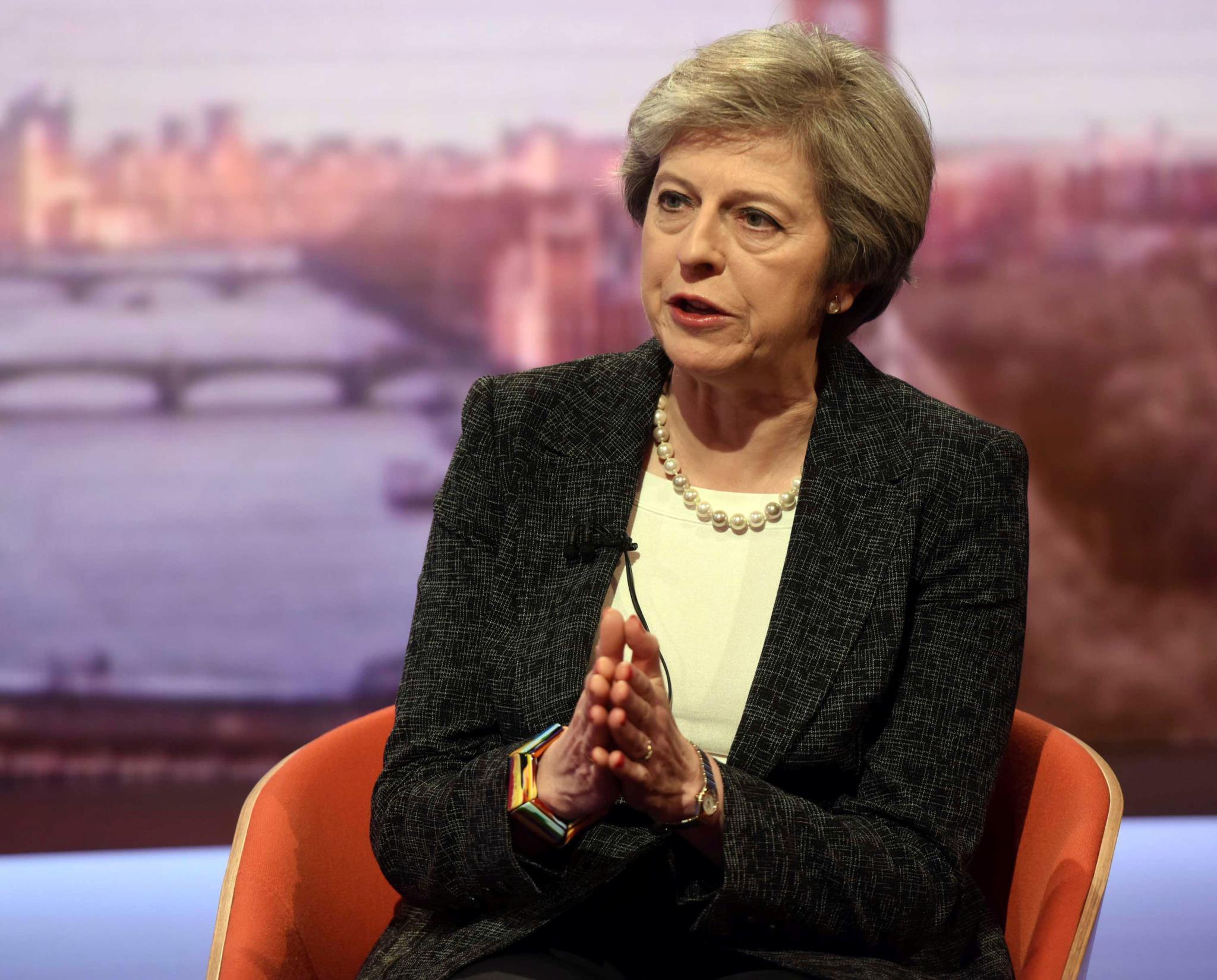 Questionada na BBC sobre a polémica, Theresa May recusou-se a comentar