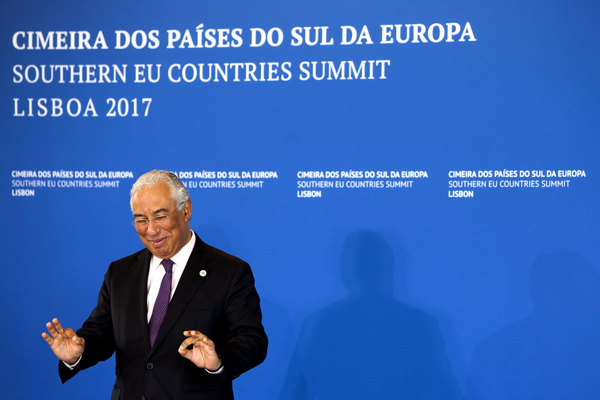 A cimeira de Lisboa é a segunda entre os sete países do sul da UE: a primeira realizou-se em Atenas, em Setembro de 2016