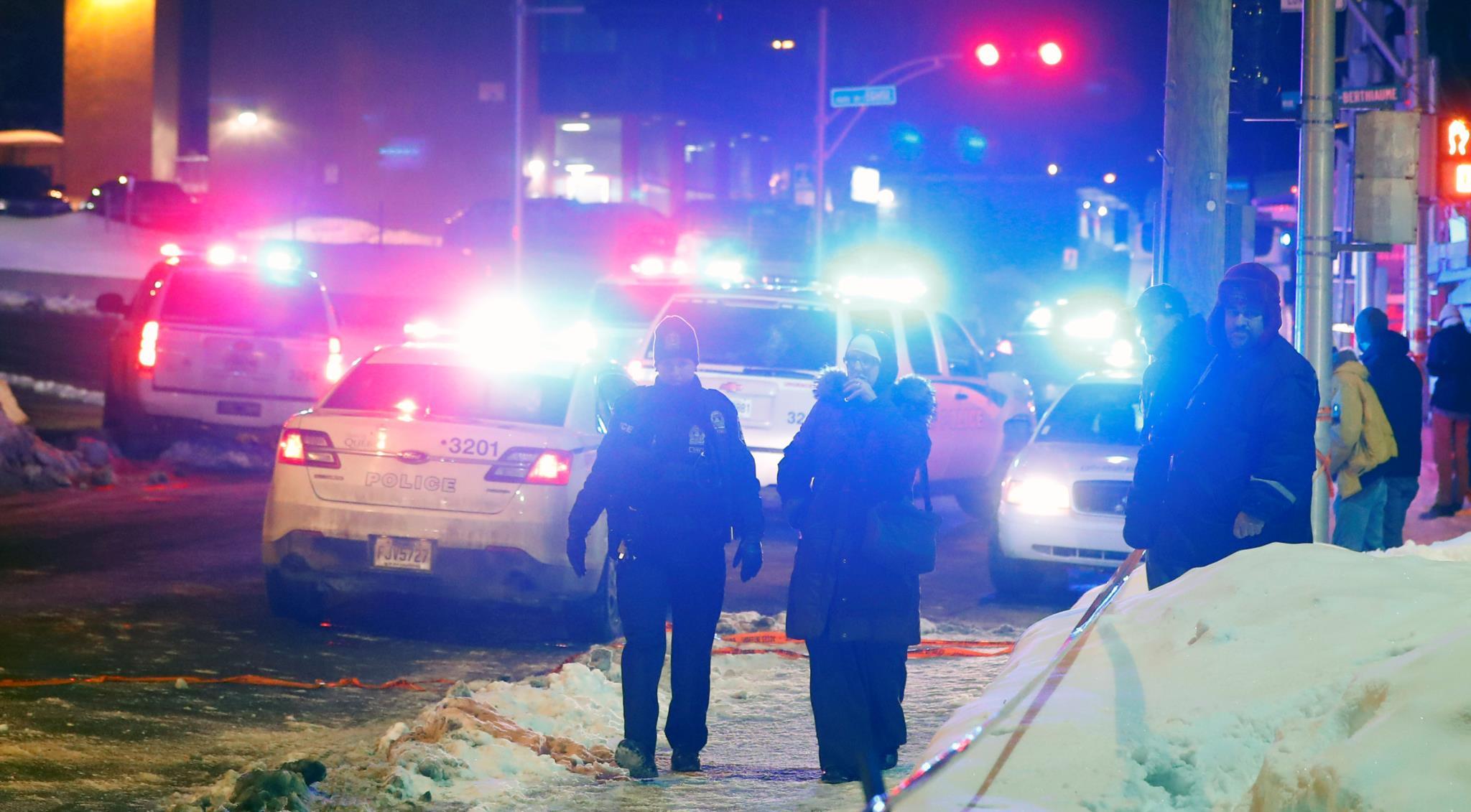 Ataque em mesquita do Quebeque causa seis mortos