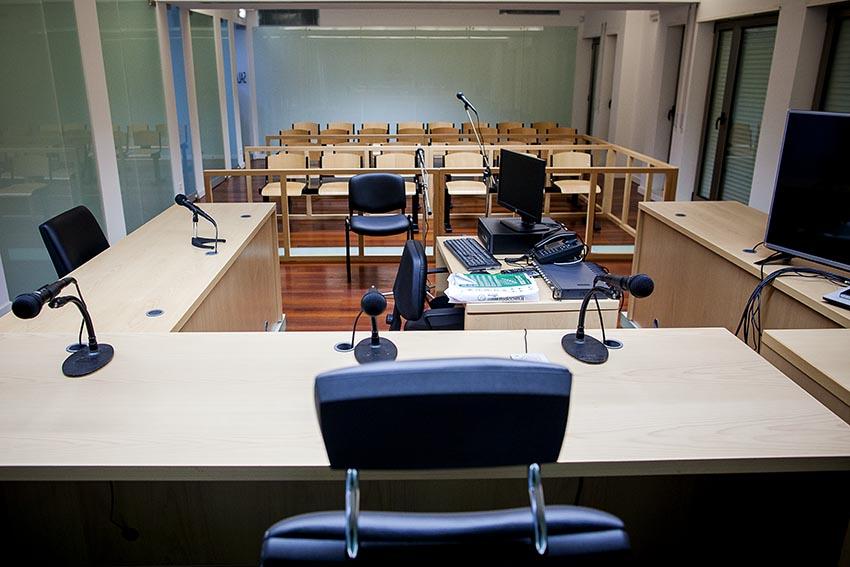 No Tribunal de Sines foram atendidas cinco a seis pessoas por dia e nenhum julgamento foi ainda efectuado