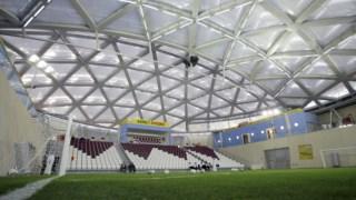 Pormenor de um dos estádios previstos para o Mundial 2022