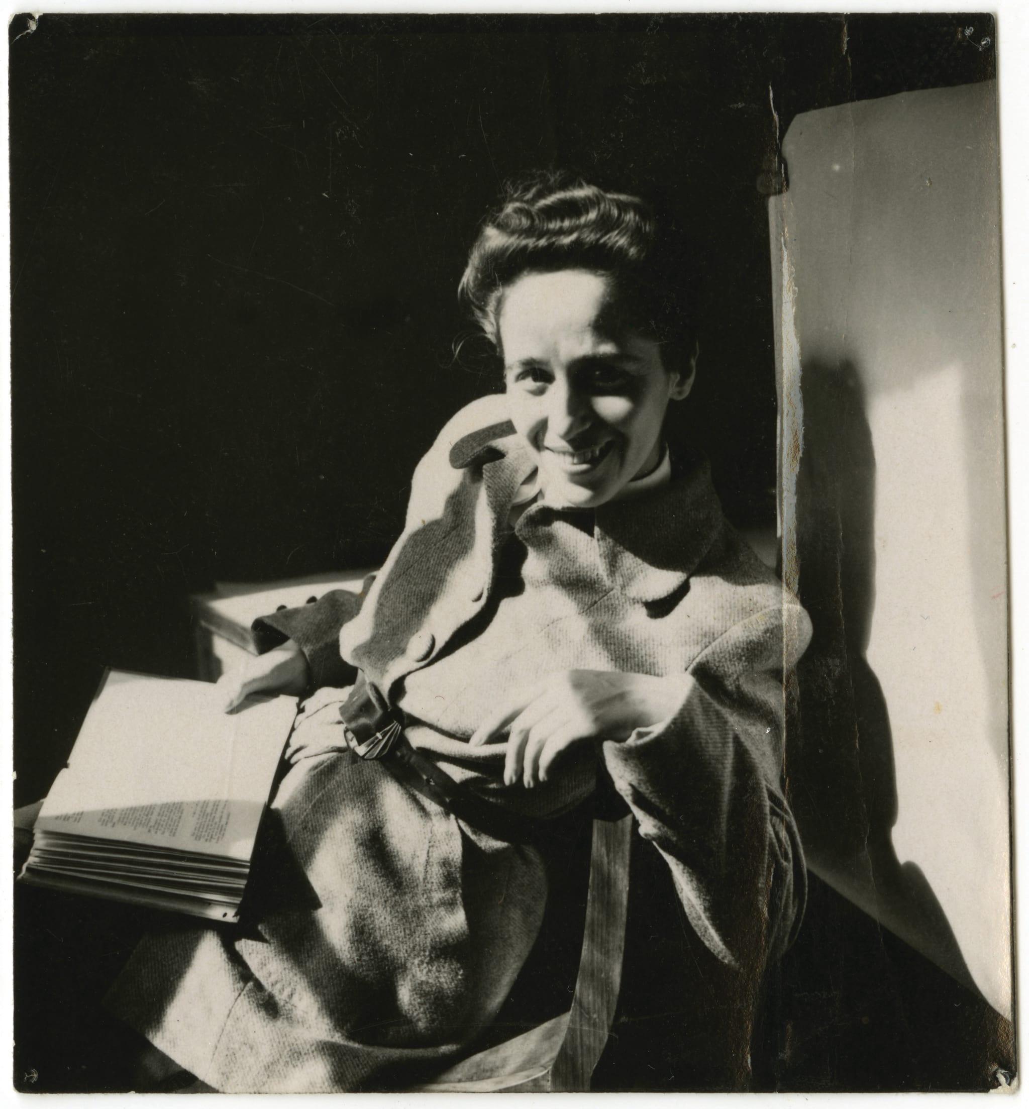 Manuela de Azevedo nos anos 1950
