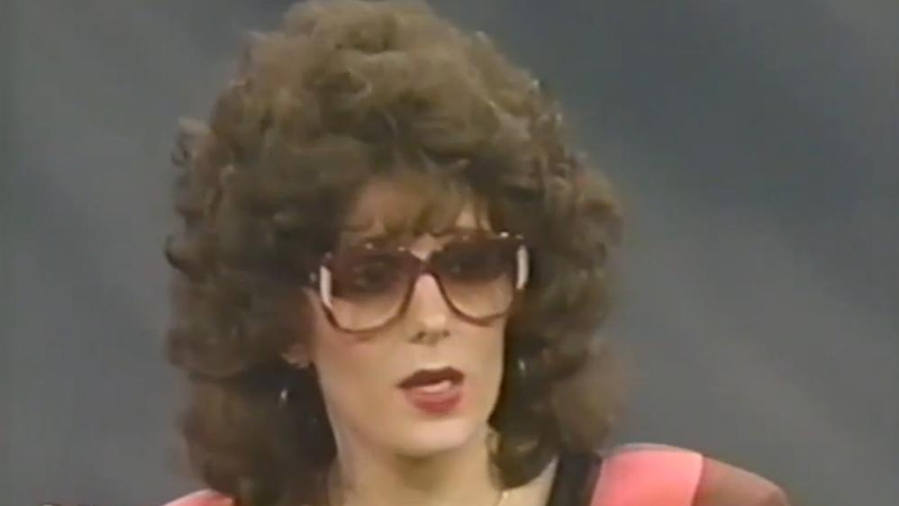 Lisa Fierstein durante o programa de Oprah em 1990