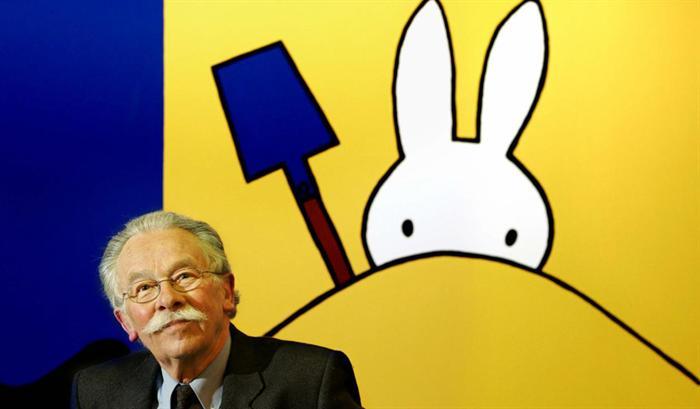 PÚBLICO - Morreu Dick Bruna, o criador da coelha Miffy