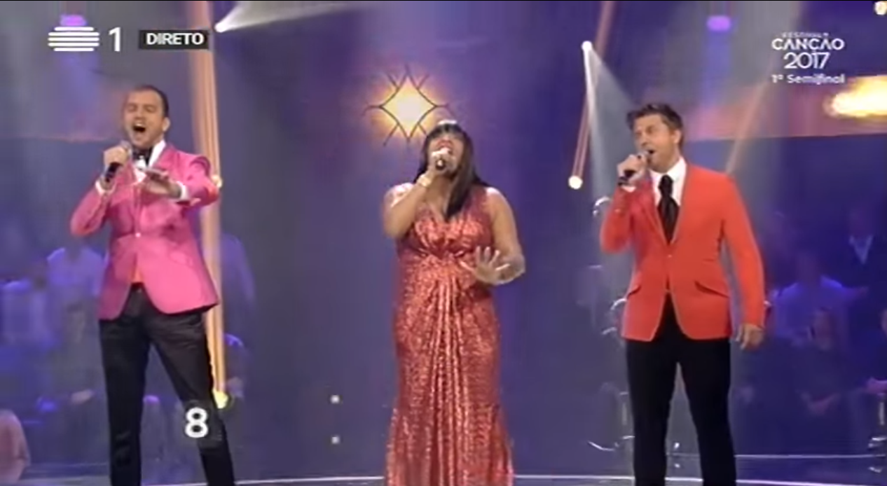 PÚBLICO - Os <i>talent shows</i> dominaram a primeira semi-final do Festival da Canção