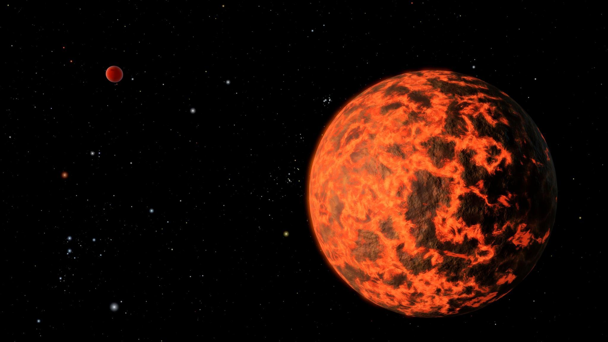 Temos fotografias dos planetas extra-solares?