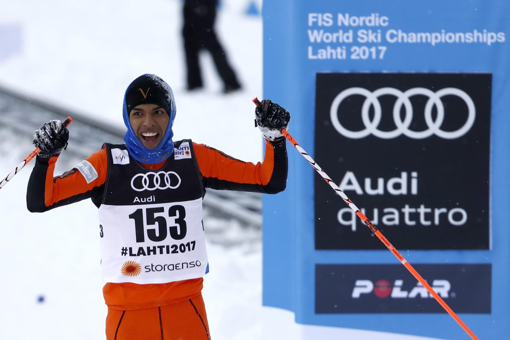 """PÚBLICO - O """"pior esquiador do mundo"""" nunca tinha visto neve"""