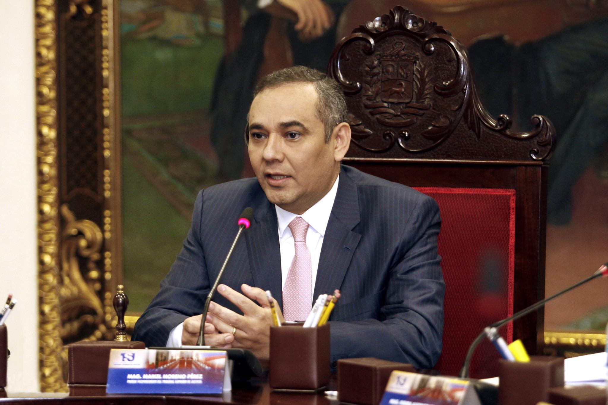 PÚBLICO - Novo presidente do Supremo da Venezuela é um ex-polícia condenado por assassínio