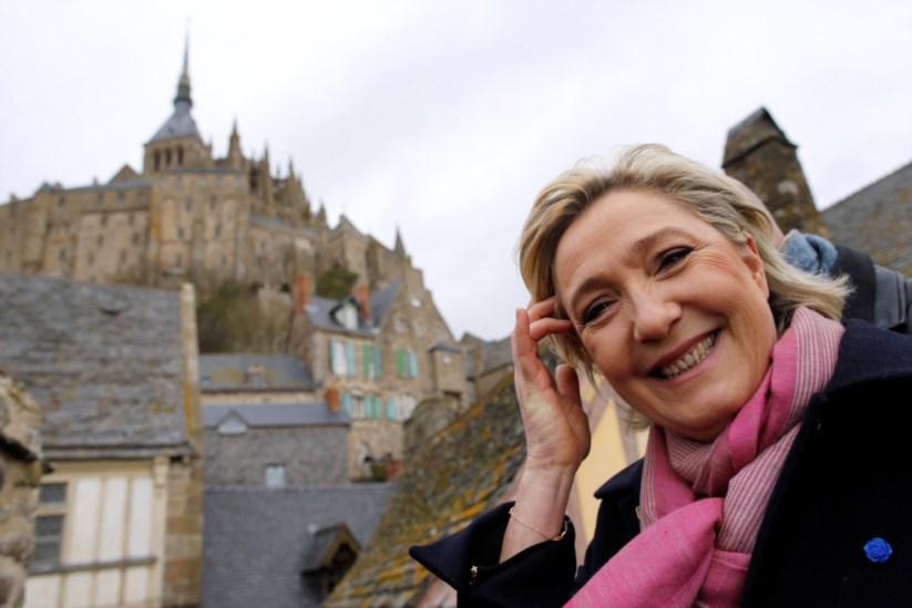 Marine Le Pen em campanha