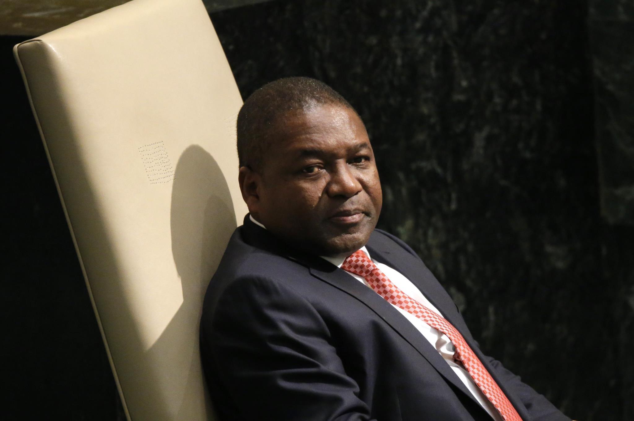 Filipe Nyusi tentou suavizar o mal-estar diplomático