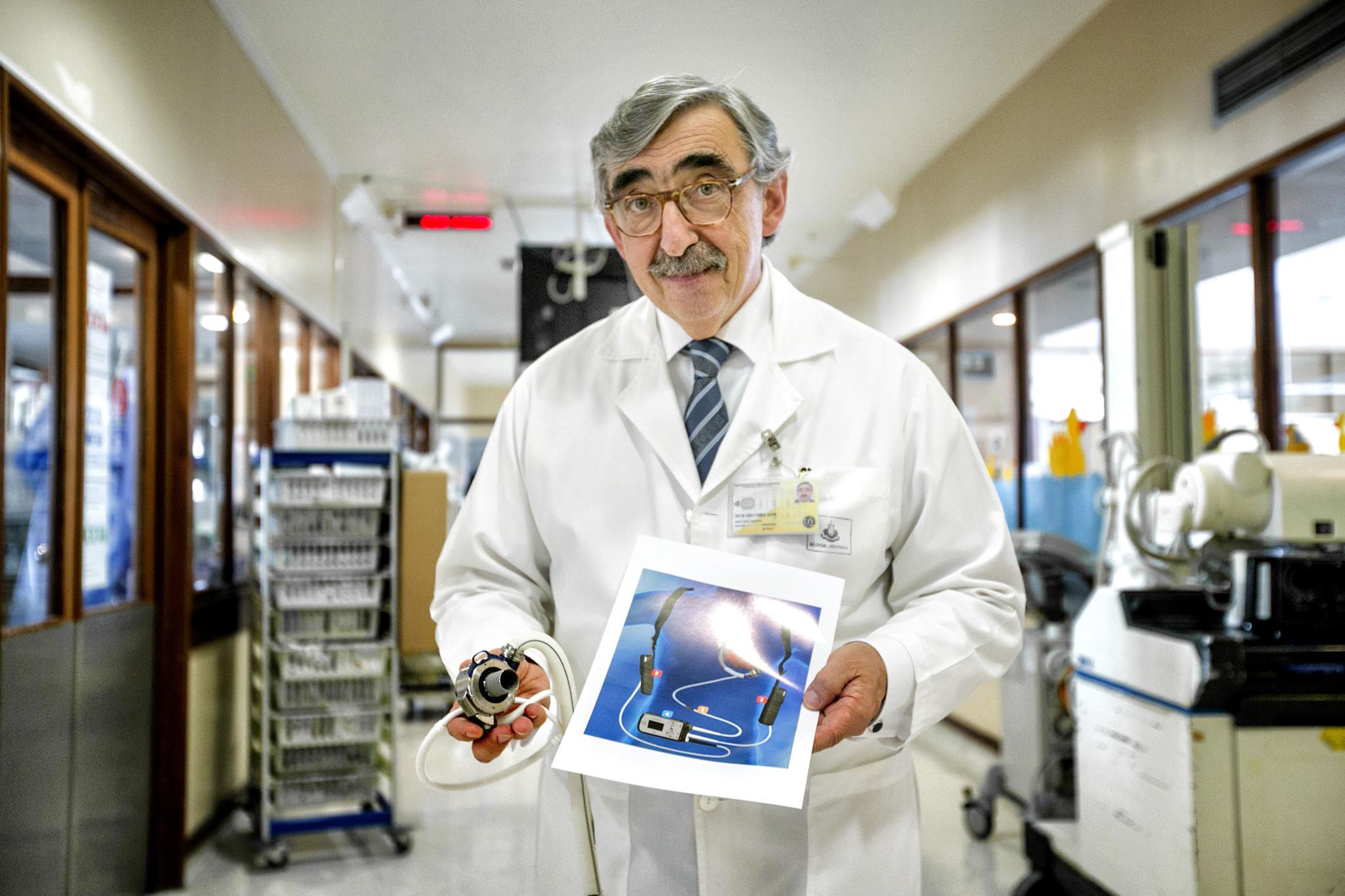 O médico José Fragata, que dirigiu a cirurgia