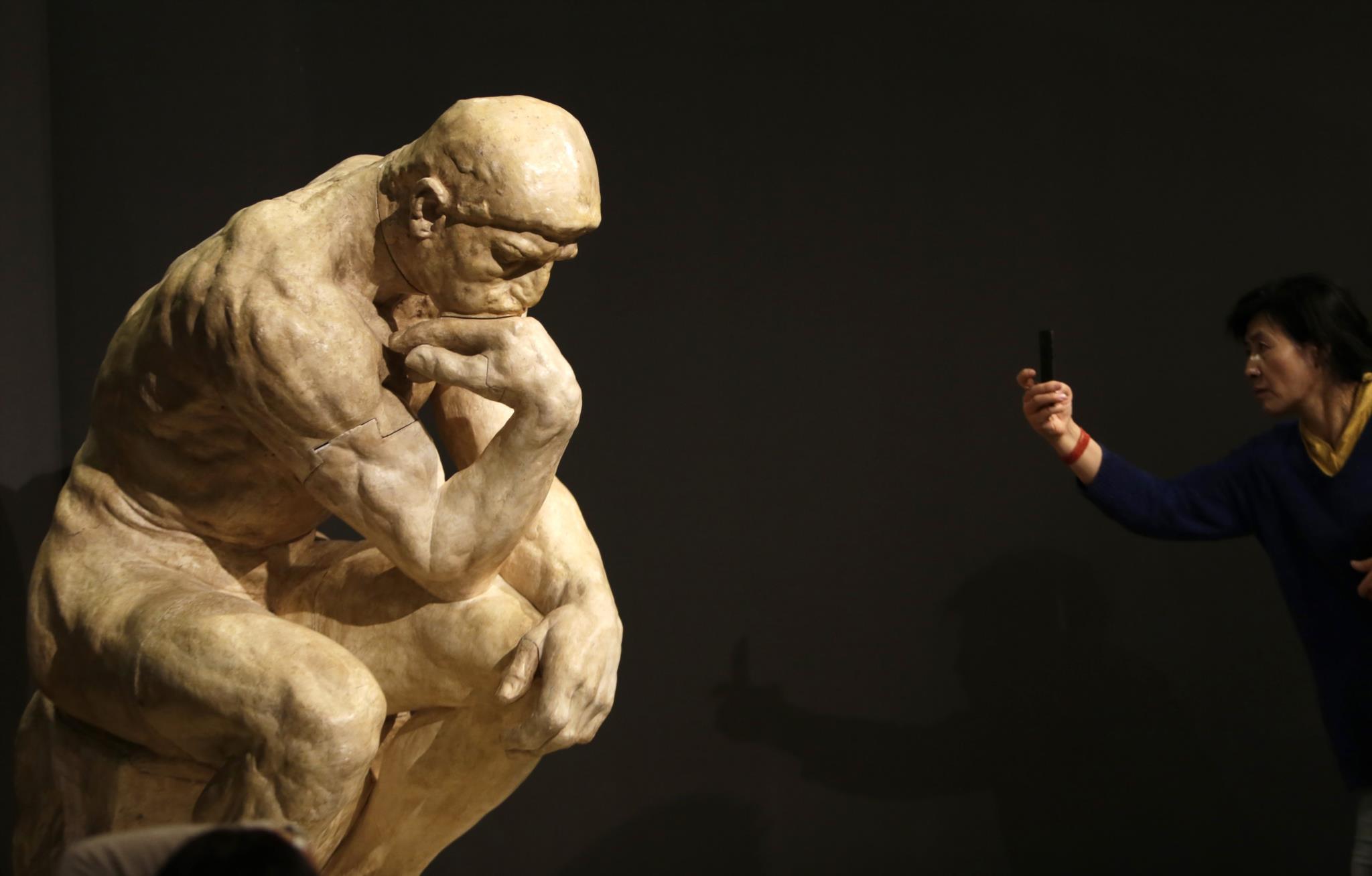 PÚBLICO - Uma exposição para celebrar o pai da escultura moderna