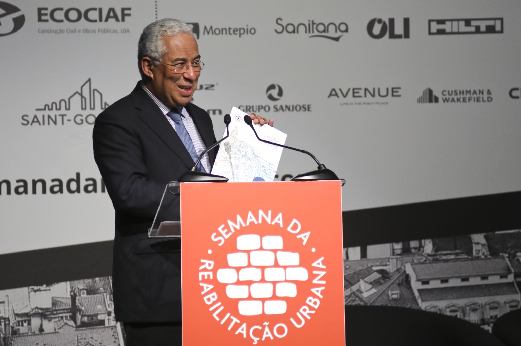 """PÚBLICO - António Costa: """"É necessário preservar a identidade das cidades"""""""