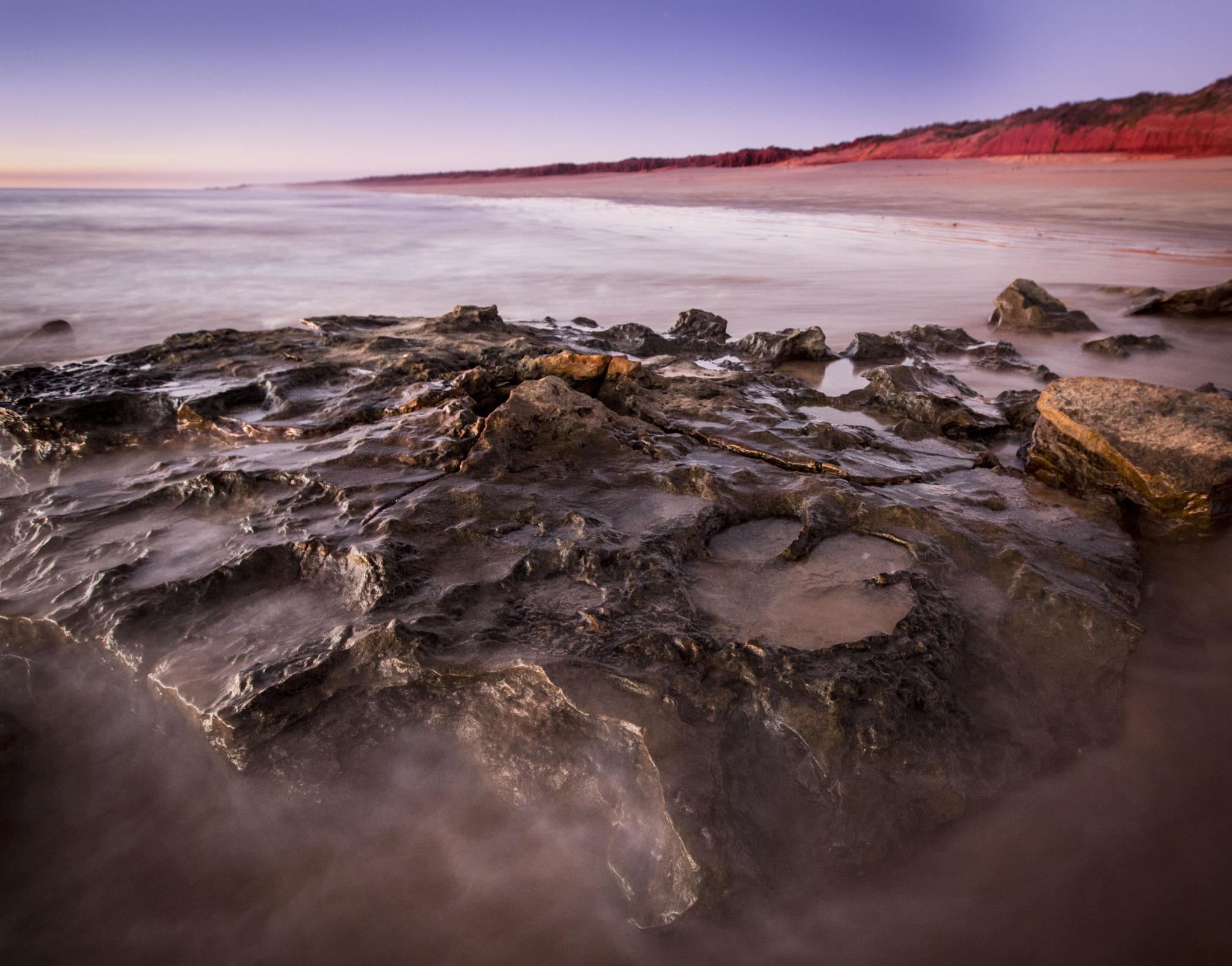 PÚBLICO - Descobertas 150 pegadas de 21 espécies de dinossauros na Austrália