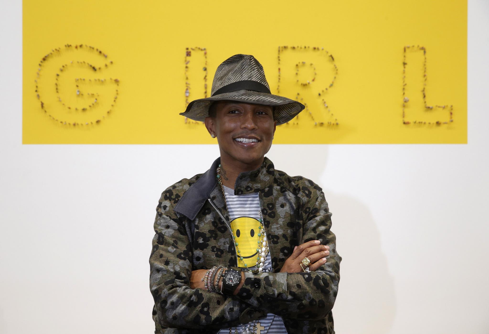 PÚBLICO - A vida de Pharrell Williams vai dar um filme (musical, claro)