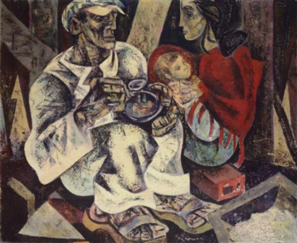 PÚBLICO - Exposição colectiva em Lisboa mostra <i>O Almoço do Trolha</i> de Júlio Pomar