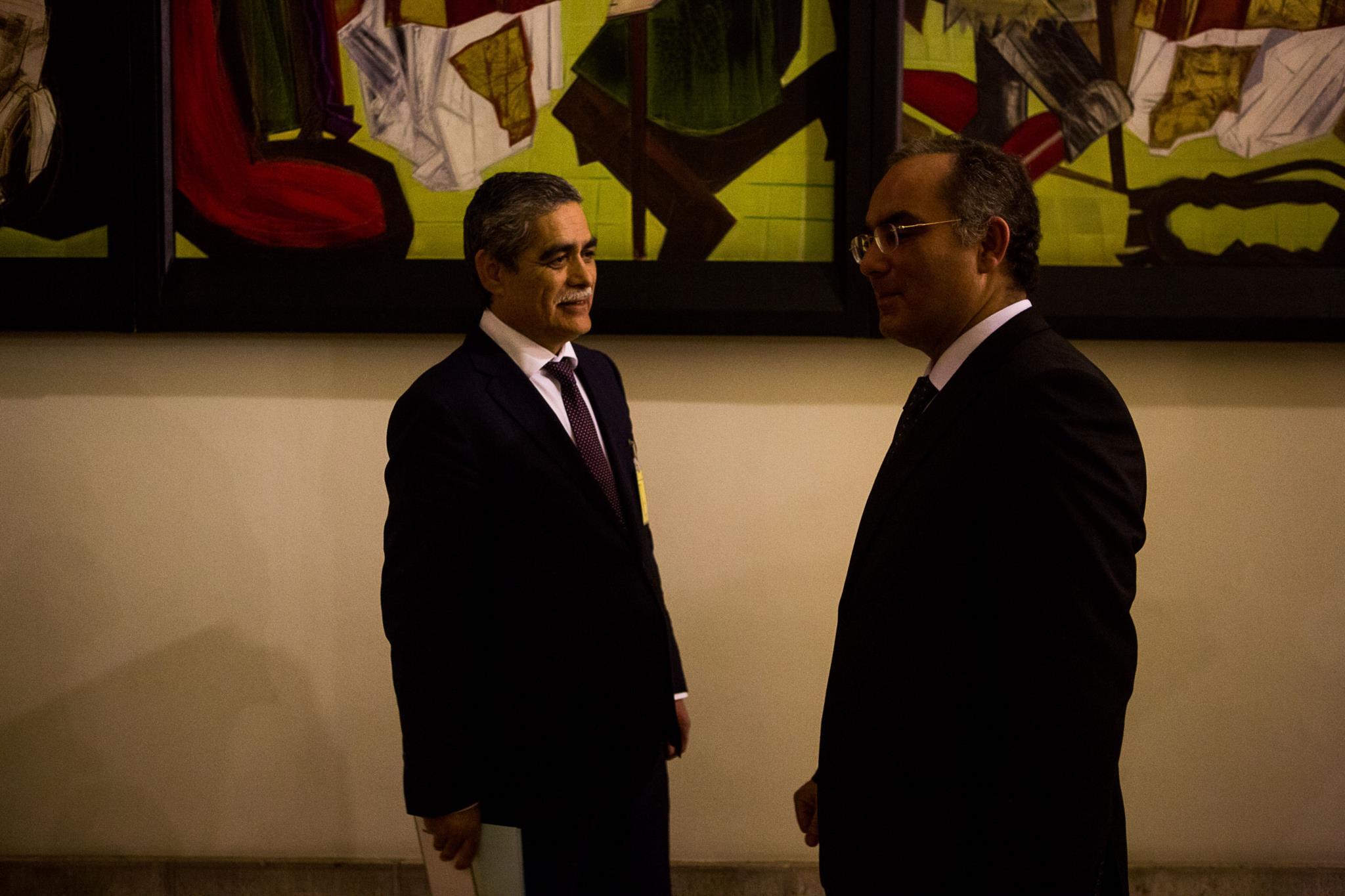 O Ministério Público arquivou o processo da lista VIP por falta de prova. Na foto, o ex-director-geral António Brigas Afonso e o ex-número dois José Maria Pires