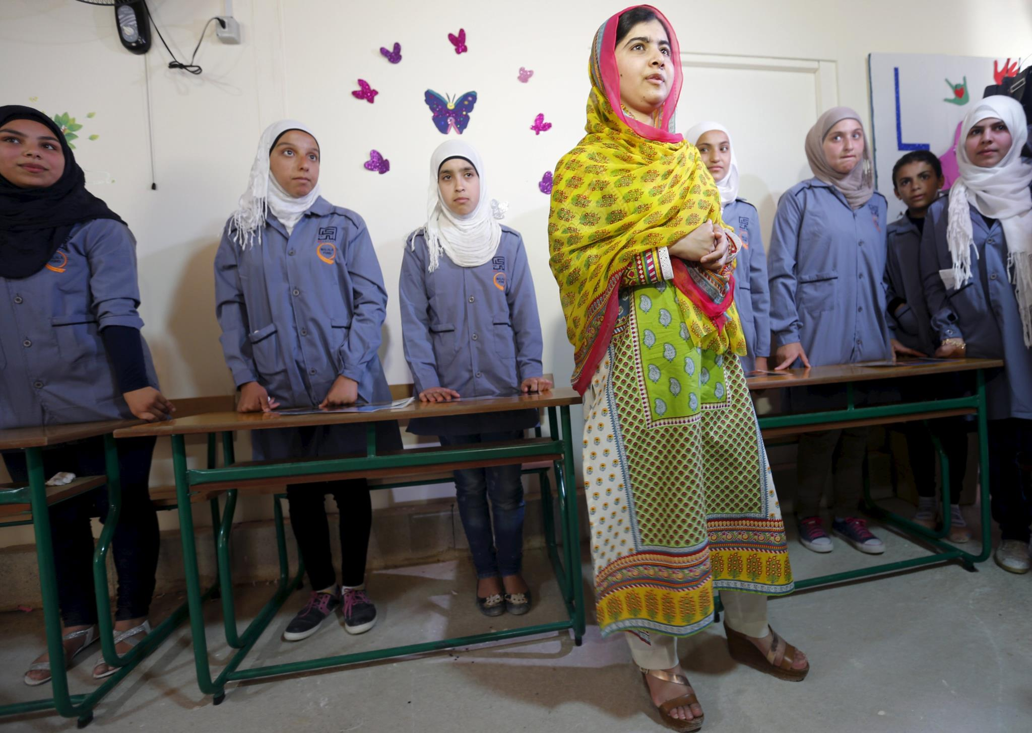 Malala é a mais jovem mensageira de paz da ONU de sempre