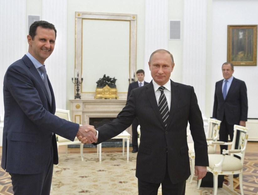 Assad e Putin em 2015: os aliados do regime avisam os Estados Unidos contra mais acções no país