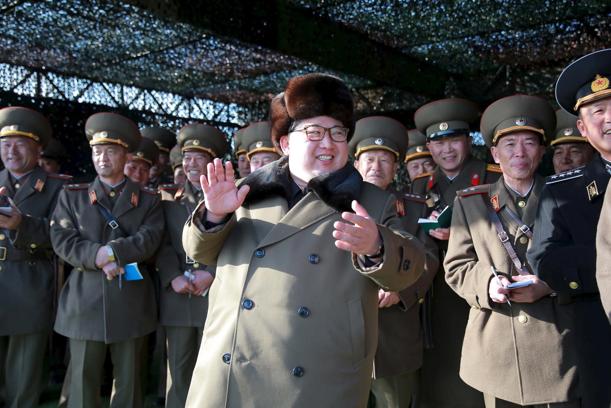 China pressiona Kim para conter tentação militar dos EUA