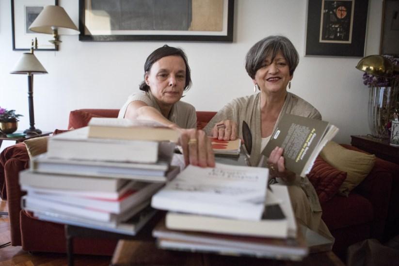 Elsa Maria Conde (à esquerda) e Teresa Calçada