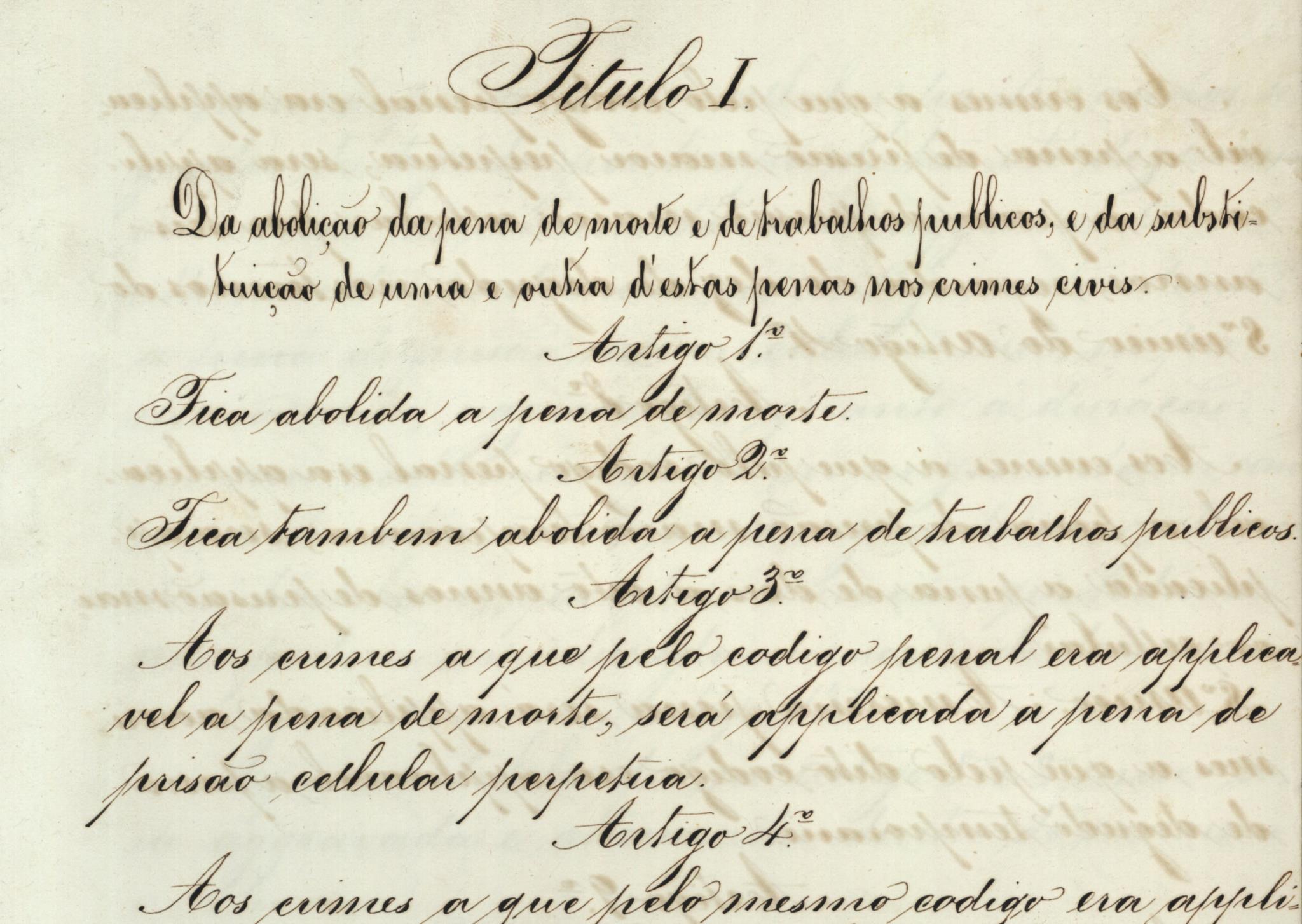 PÚBLICO - Há 150 anos, Portugal dava o exemplo que a Europa iria imitar