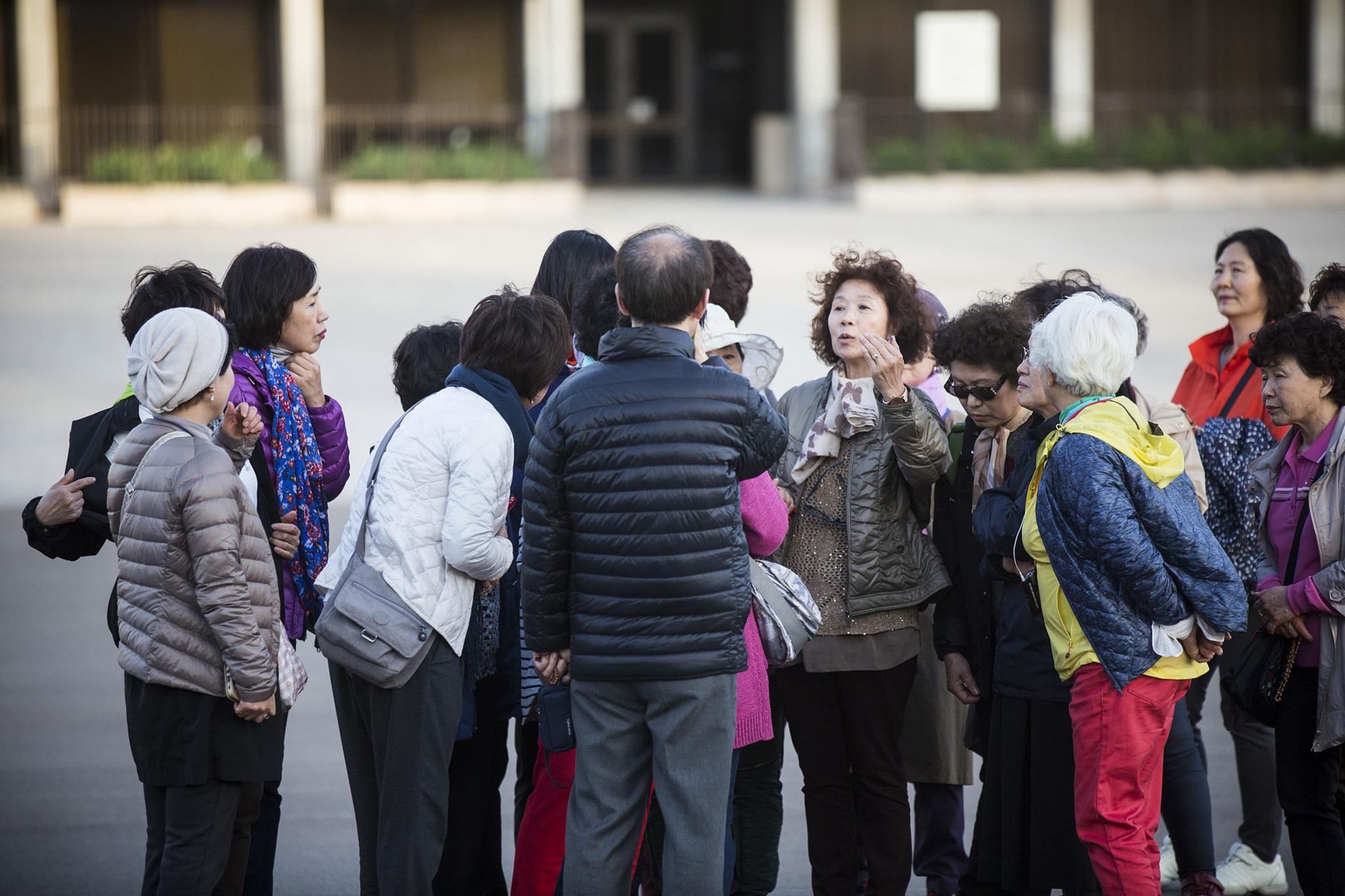 PÚBLICO - Já há mais sul-coreanos a pernoitar em Fátima do que brasileiros