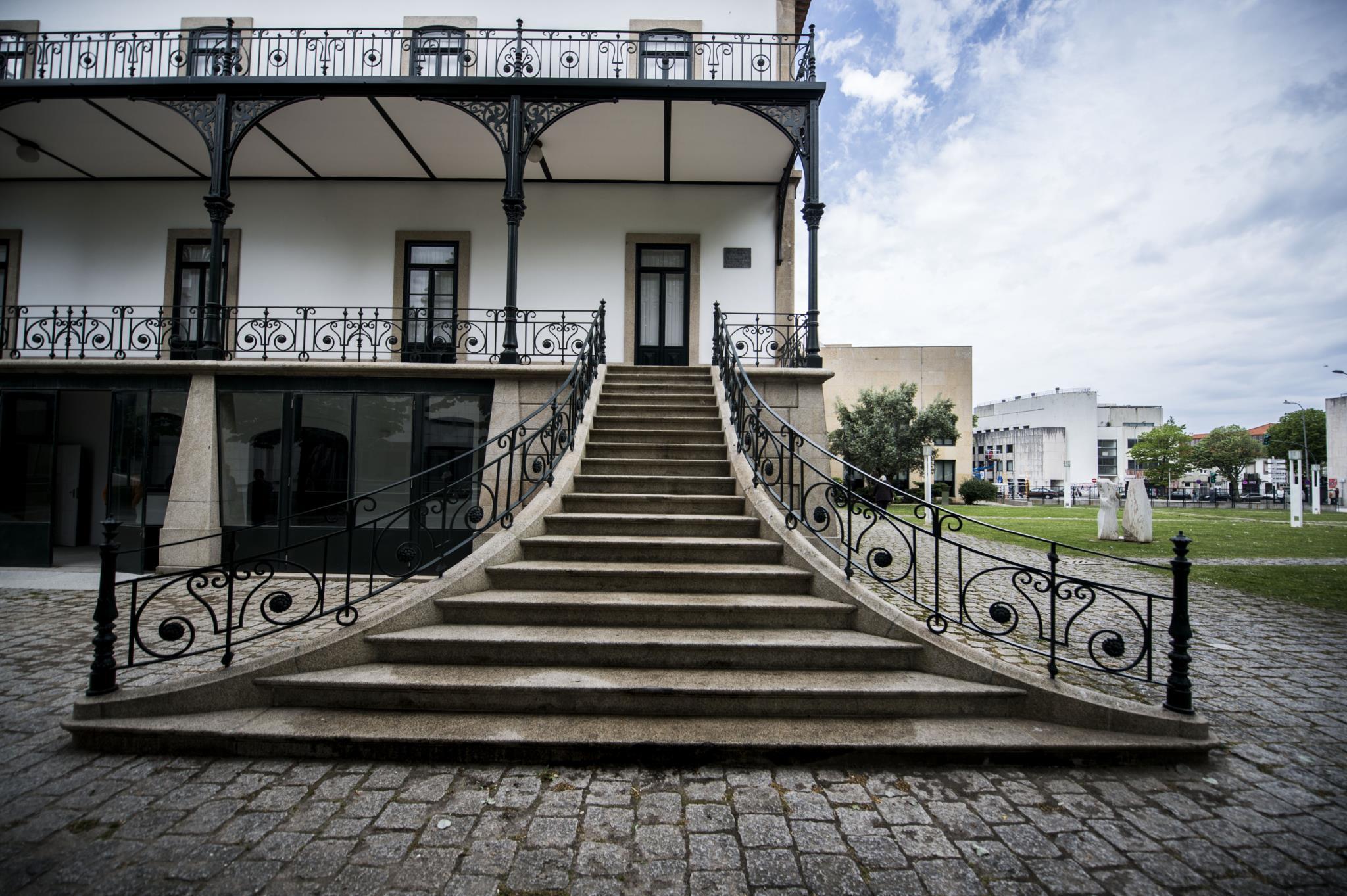 PÚBLICO - Neste palacete vão ser guardadas as memórias de Matosinhos
