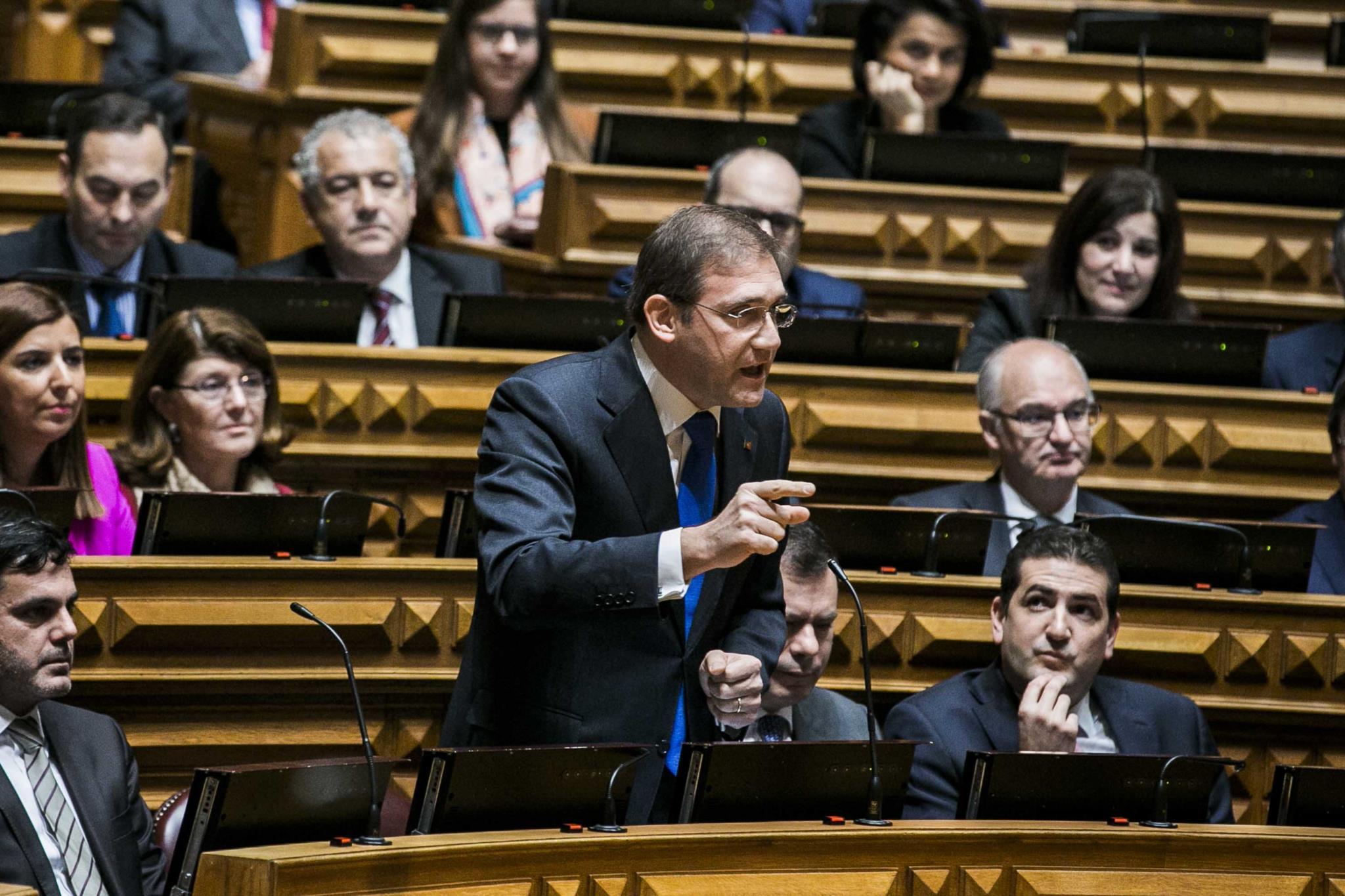 """PÚBLICO - PSD ataca Governo com a ideia de """"falta de cultura democrática"""""""