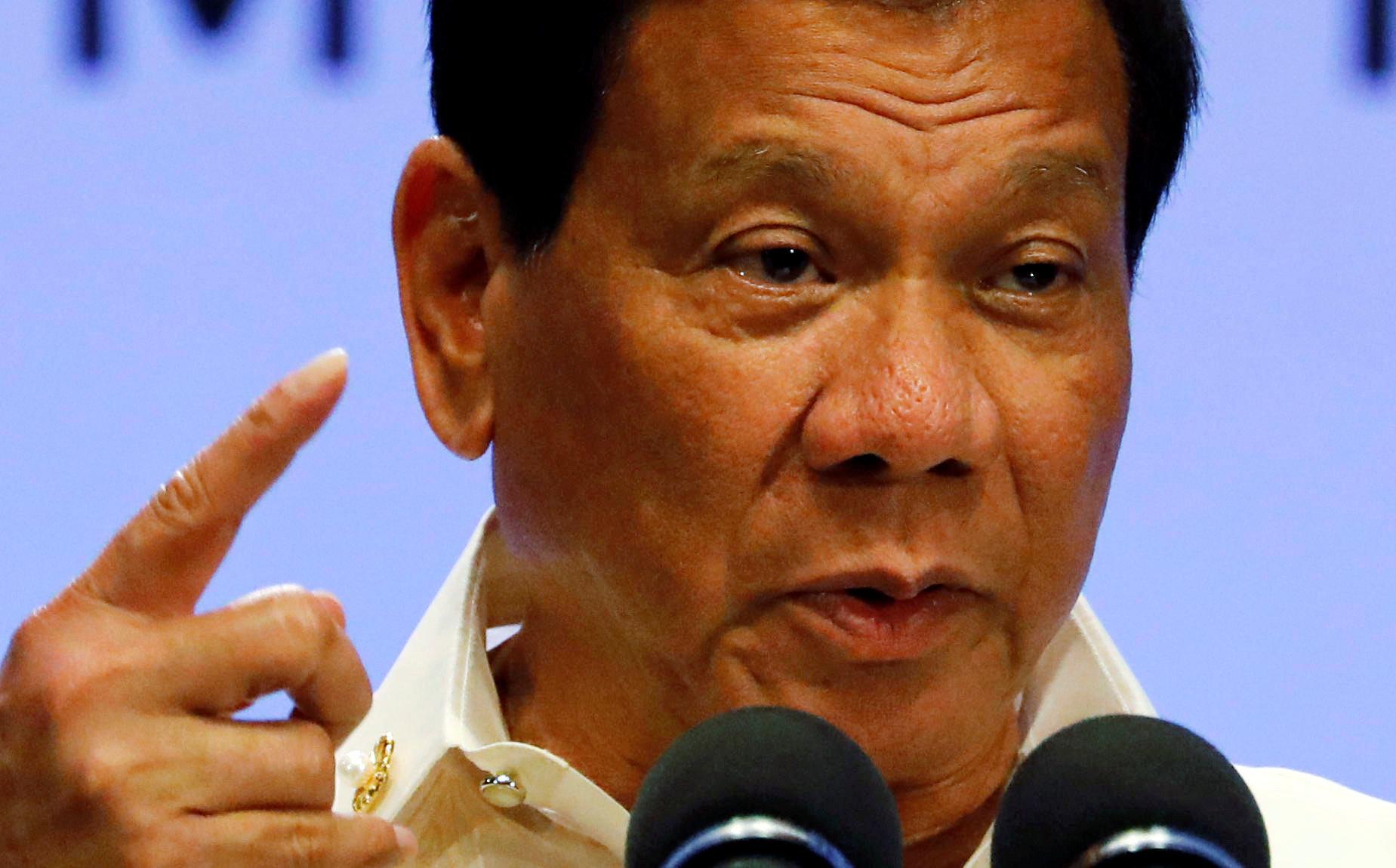 Rodrigo Duterte é acusado de ordenar execuções à margem da lei que terão vitimado milhares de pessoas.