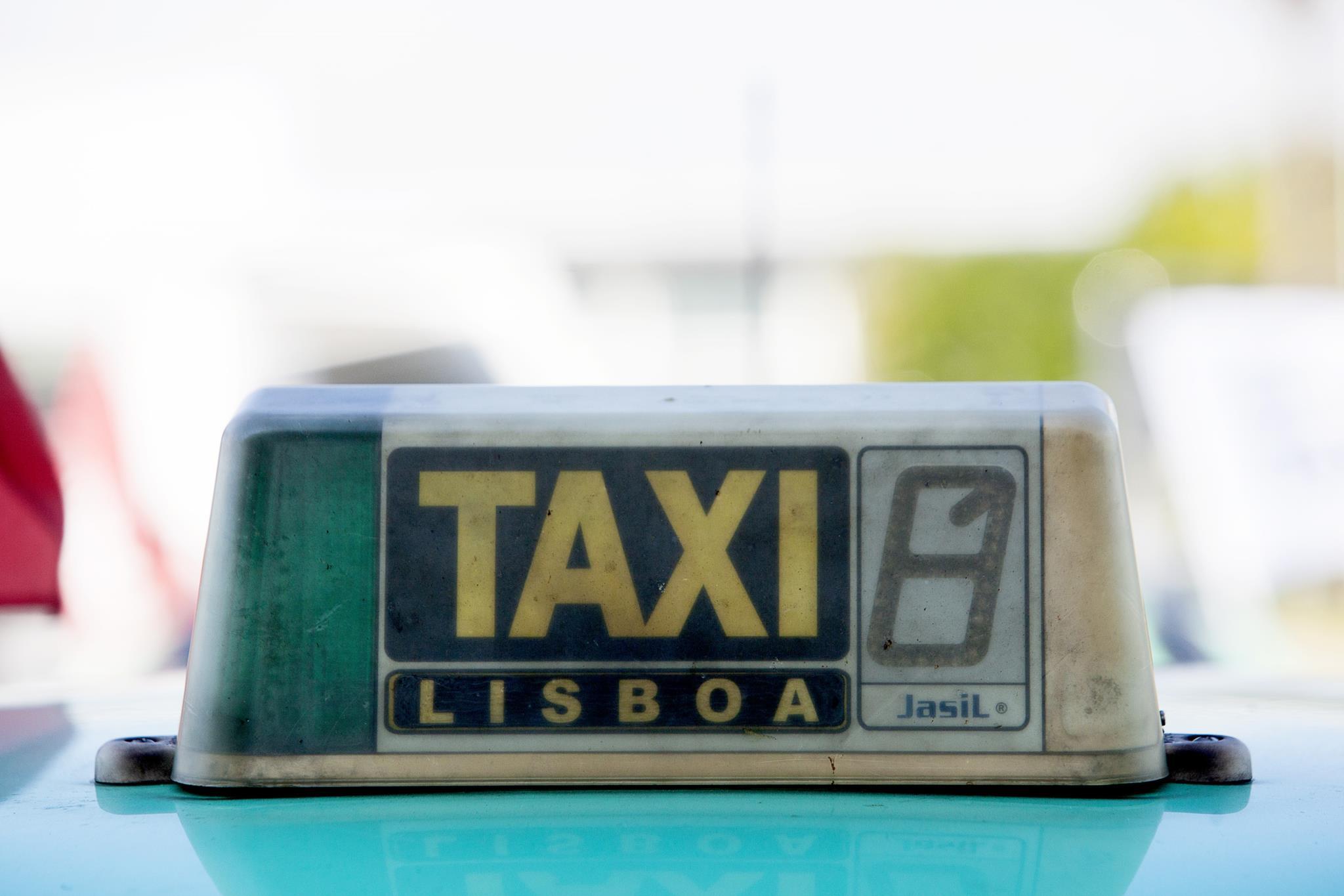 Lisboa é o concelho com mais táxis: 3497, o que corresponde a 25% do total